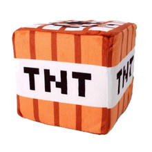 "TNT Block - Minecraft Overworld 4"" Plush"