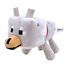 "Wolf - Minecraft Overworld 7"" Plush"