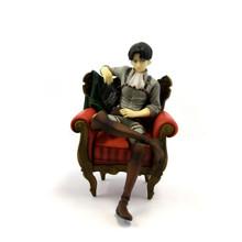 "Levi Ackerman in Chair - Attack on Titan 5"" Figure"