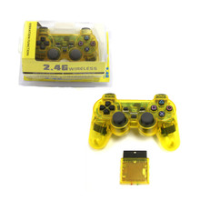 PS2 2.4 GHz Wireless OG Controller Pad - Clear Yellow (Hexir)