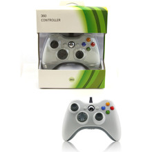 Xbox 360 Wired Analog Controller Pad - White (Hexir)