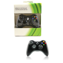 Xbox 360 Wireless Controller Pad - Black (Hexir)