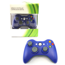 Xbox 360 Wireless Controller Pad - Blue (Hexir)