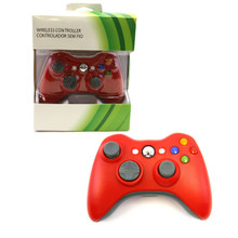Xbox 360 Wireless Controller Pad - Red (Hexir)