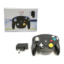 Gamecube Wireless OG Wave Controller Pad - Jet Black (Hexir)