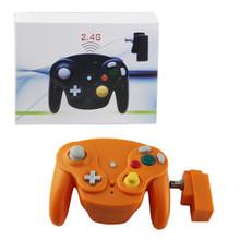 Gamecube Wireless OG Wave Controller Pad - Orange (Hexir)