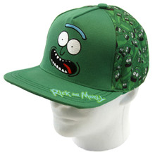 Pickle Rick - Rick and Morty Snapback Cap Hat