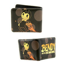 "Title - Bendy and the Ink Machine 4x5"" BiFold Wallet"