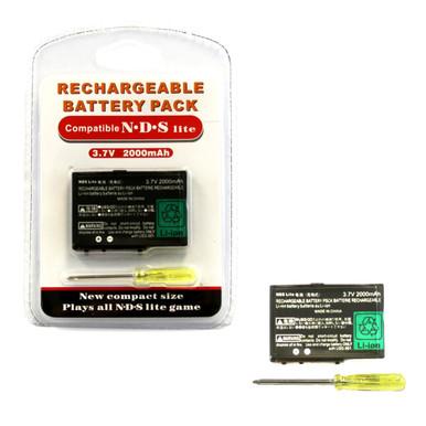 DS Lite Rechargeable Li-ion Battery Pak 2000 mAh 3.7V (Hexir)