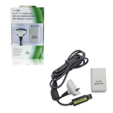 Xbox 360 Play and Charge Pak - White (Hexir)