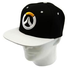 Logo Black - Overwatch Snapback Cap Hat