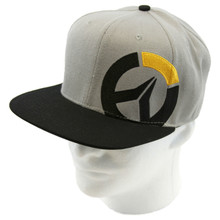 Grey Logo - Overwatch Snapback Cap Hat