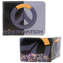 "Logo - Overwatch 4x5"" BiFold Flat Wallet"