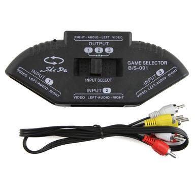 AV 3 Port Switch Box Selector (Hexir)