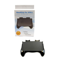 3DS-XL Hand Grip Stand Attachment - Black (Hexir)