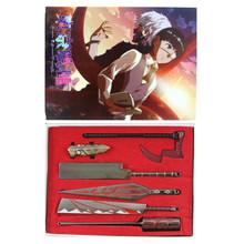 Weapon Set - Tokyo Ghoul 6 Pcs. Keychain Set