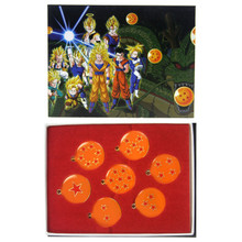 Dragon Balls - DragonBall Z 7 Pcs. Pendant & Keychain Set