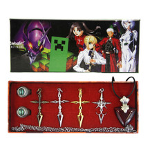 Command Spell Set - Fate Stay Night 7 Pcs. Necklace Set