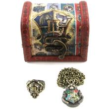 Hogwarts Crest - Harry Potter 2 Pcs. Ring and Pendant Set