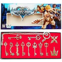 Keyblade Weapons - Kingdom Hearts 12 Pcs. Necklace Pendant Set