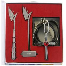 Moka's Necklace - Rosario + Vampire 3 Pcs. Necklace Set