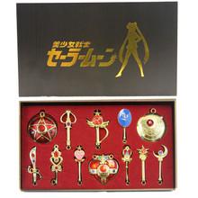Magic Wands and Large Items Set - Sailor Moon 12 Pcs. Necklace Set