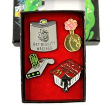 Szechuan Sauce - Rick and Morty 4 pcs. Pin Set