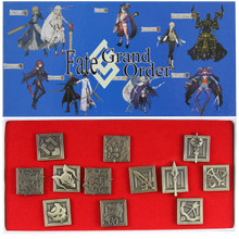 Classes - Fate Stay Night 12 pc. Pin Set