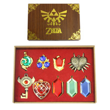 Rupees - Legend of Zelda 9 Pcs. Necklace Pendant Set