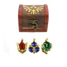 Spiritual Stones Set - Legend of Zelda 3 Pcs. Necklace Pendant Set