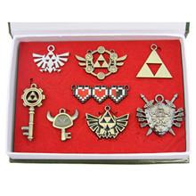 Health Bar - Legend of Zelda 8 Pcs. Necklace Pendant Set