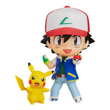 "Ash with Pikachu - Pokemon 3"" Droid Action Figure"