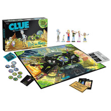 Rick and Morty - Clue Board Game (USAopoly) CL085-434