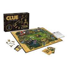Legend of Zelda Clue Board Game (USAopoly) CL005-462