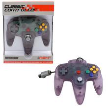 Nintendo 64 Analog Controller Pad OG - Clear Purple (Teknogame)