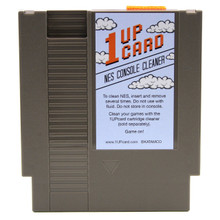 NES Console Cleaner (1 Up Card)