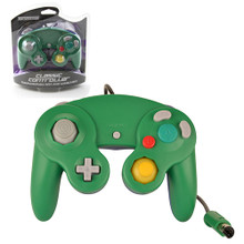 GameCube Rumble Analog Controller Pad - Green-Blue (Teknogame)