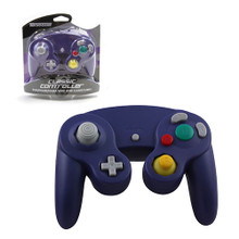 Gamecube Rumble Analog Controller Pad - Indigo Purple (Teknogame)