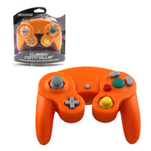 Gamecube Rumble Analog Controller Pad - Orange (Teknogame)
