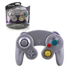 Gamecube Rumble Analog Controller Pad - Silver Platinum (Teknogame)