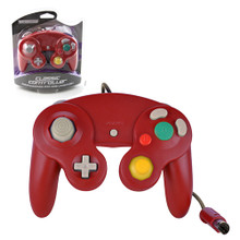 GameCube Rumble Analog Controller Pad - Red (Teknogame)