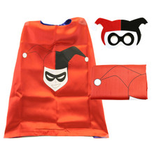 Harley Quinn - DC Universe Costume Cape and Mask Set