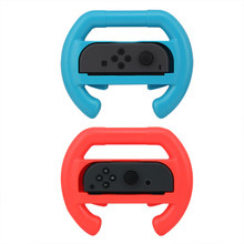 Switch Joy-Con Controller Wheels 2 Pc. Set - Blue & Red (Dobe)