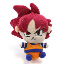 "Super Saiyan God Goku - Dragon Ball Z 7"" Plush"