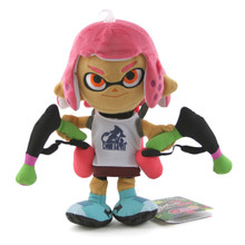 "Inkling Girl Neon Pink - Splatoon 9"" Plush (Little Buddy) 1660"