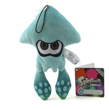 "Inkling Squid Turquise - Splatoon 9"" Plush (Little Buddy) 1434"