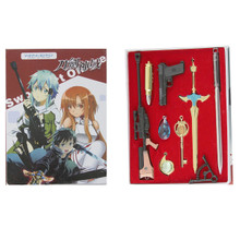 Sword and Handgun Set - Sword Art Online 8 Pcs. Keychain Set