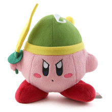 "Kirby Sword - Kirby Adventures Small 6"" Plush (San-Ei) 1317"