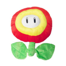 "Fire Flower - Super Mario Bros 7"" Plush"