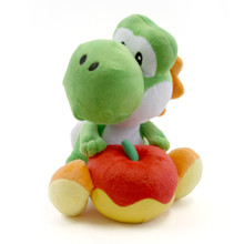"Yoshi with Apple - Super Mario Bros 7"" Plush"